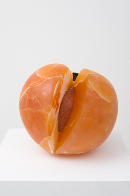 , 'Peach with Erotic Inside,' 2017, M+B