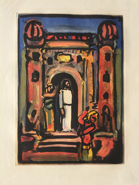 Georges Rouault, 'Passion Suite: Christ aux Portes de la Ville', 1936, Denis Bloch Fine Art