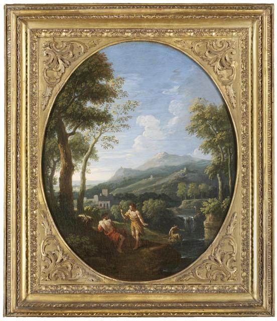 Jan Frans van Bloemen, called Orizzonte, 'An Italianate landscape', DICKINSON