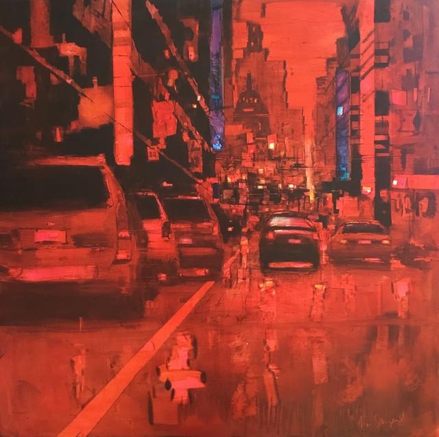 , ' Red Shift,' 2019, GALLERI RAMFJORD