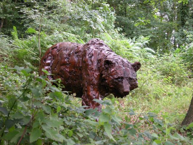 Mark Coreth, 'Walking brown bear', 2010, Sladmore Contemporary
