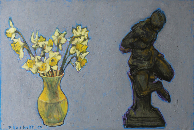 , 'Daffodils and Sculpture,' 2005, Winchester Galleries