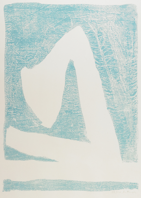 Robert Motherwell, 'Summertime in Italy (Blue)', 1966, Print, Lithograph in colors, Rago/Wright
