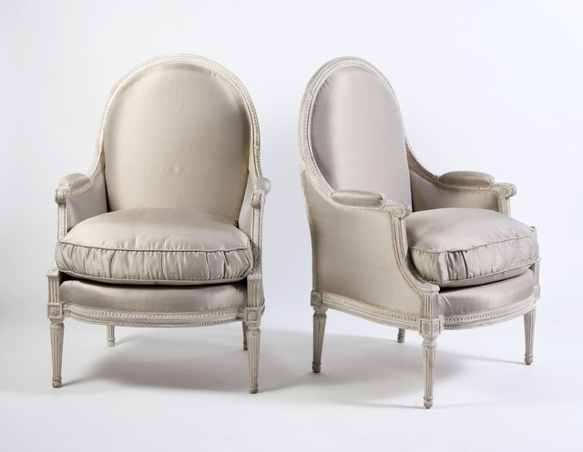 , 'Pair of Louis XVI Bergères,' ca. 1780, Susan Weber Collection