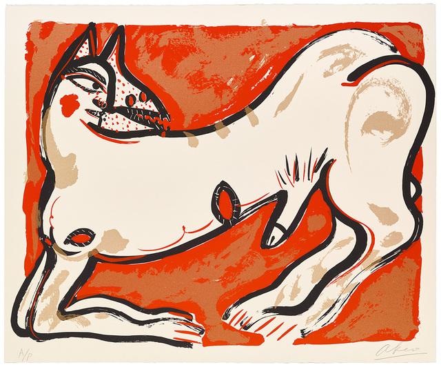 Akio Takamori, 'Potters and Prints Portfolio (Red)', 1984, Ferrin Contemporary