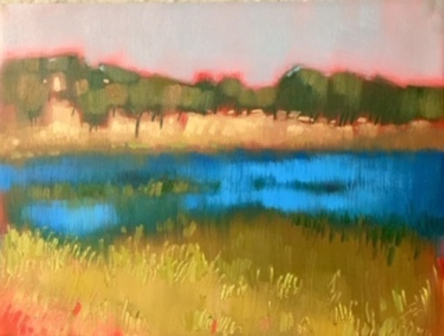, 'Rockville Lake 2,' 2018, Qube Gallery