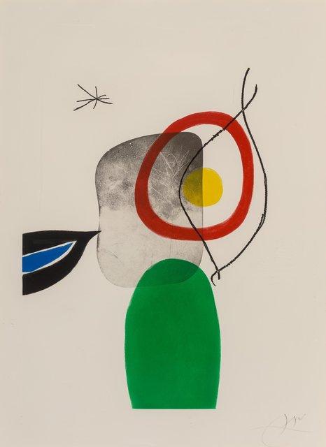 Joan Miró, 'Tir à l'arc', 1972, Heritage Auctions