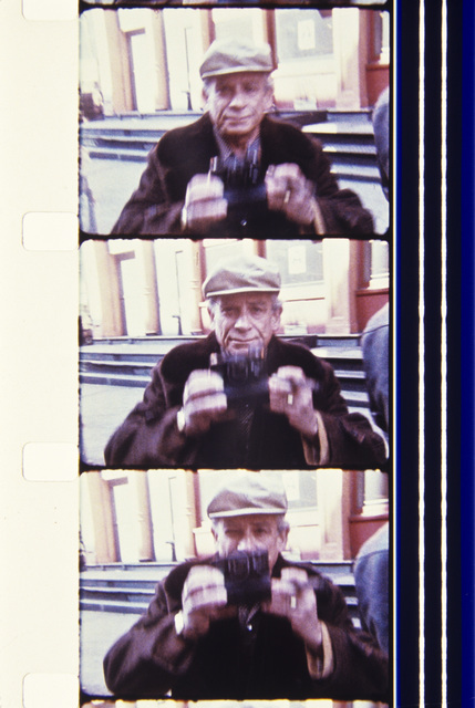 , 'Sam Fuller, 1977, NYC during the filming of MY AMERICAN FRIEND,' 2013, Deborah Colton Gallery