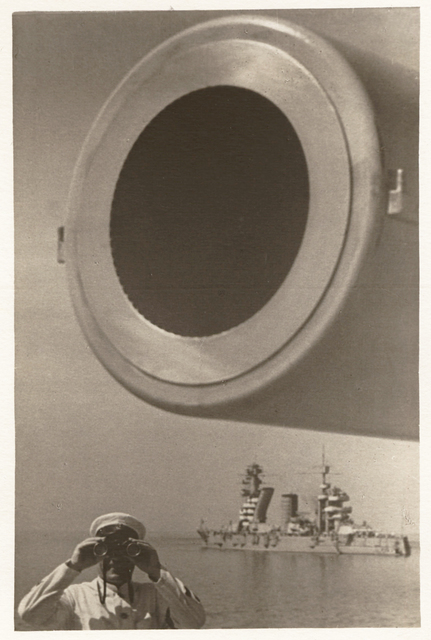 , 'On Guard (Large-Bore Cannon), Baltic Fleet,' c. 1936, Edwynn Houk Gallery