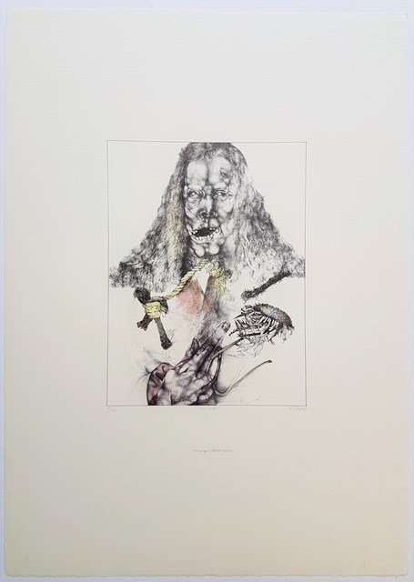 Reiner Schwarz, 'Er ist tot', 1972, Cerbera Gallery