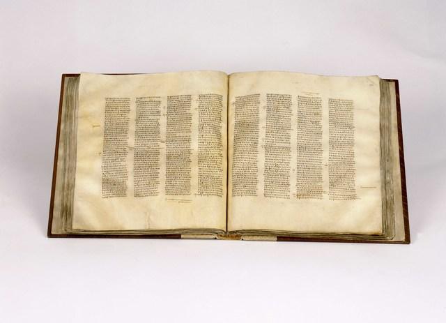 , 'Codex Sinaiticus, open at John chapter 5 verse 6 - chapter 6 verse 23, New Testament volume,' , British Museum