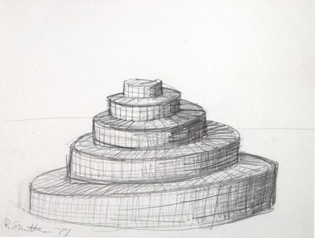 Robert Smithson, 'Spiral Hill', 1971, Galerie Gabrielle Maubrie