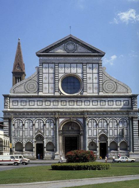 Leon Battista Alberti, 'Santa Maria Novella', ca. 1456, 70 [original structure 1278, 1350], Architecture, Allan Kohl