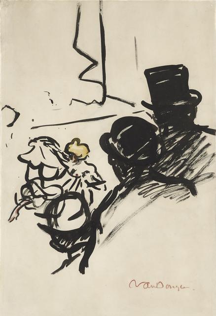 , 'Au café concert,' 1905, Stoppenbach & Delestre