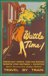 WATTLE TIME / TRAVEL BY TRAIN