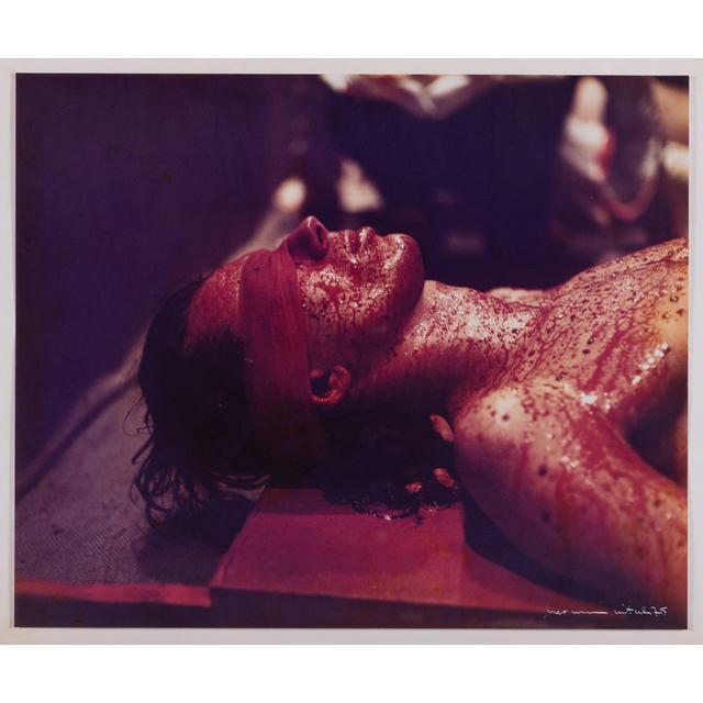 Hermann Nitsch, 'Action n°48', January 1975, PIASA