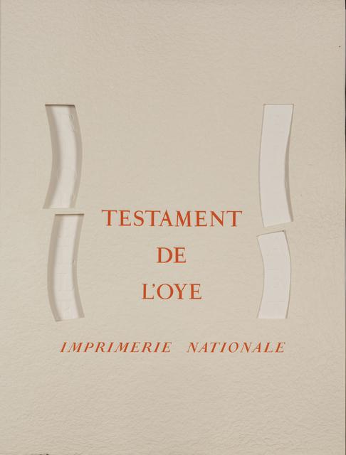 Jean-Paul Riopelle, 'Testament de l'Oye', 1996, Millon