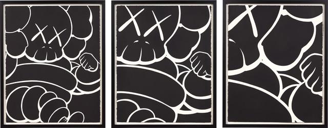 KAWS, 'Three Works: RUNNING CHUM', 2000, Phillips