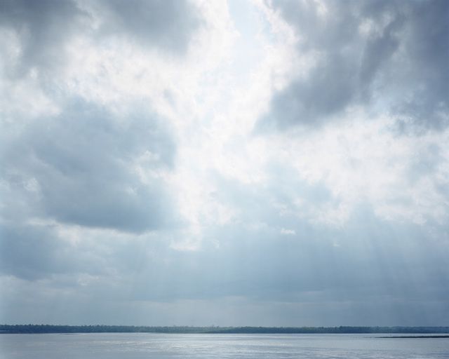, 'Angola, LA (Sky and River),' 2002, Huxley-Parlour