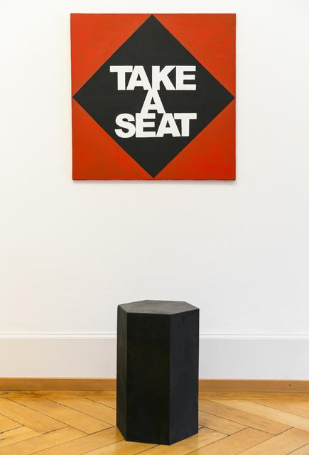 , 'Take a Seat,' 2014, Mai 36 Galerie