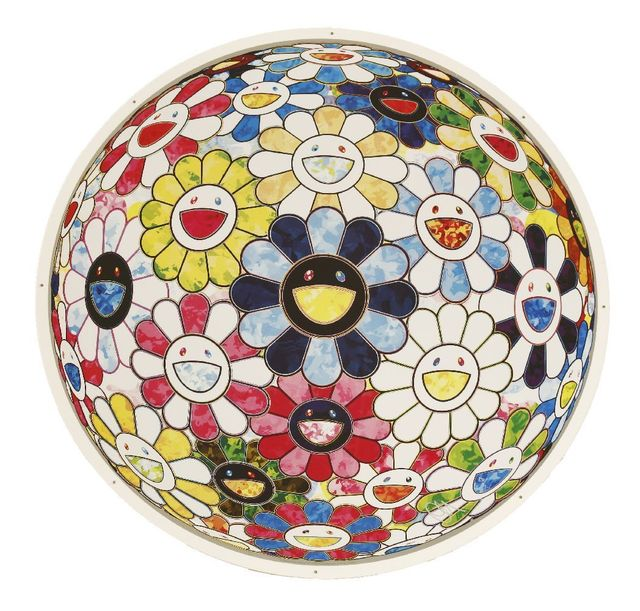 Takashi Murakami, 'The Flowerball's Painterly Challenge', 2014, Sworders