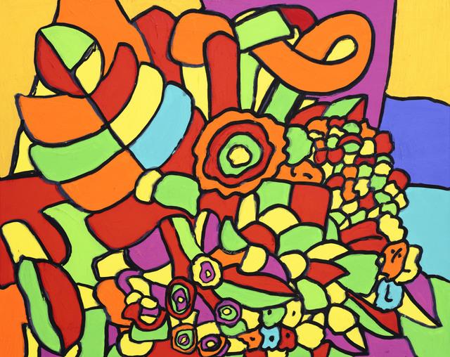 Leland Lee, 'Flower Banquet', 2012, Artrue Gallery
