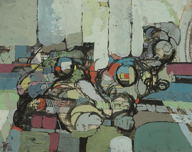Ibrahim Hussein, 'Untitled', 1964, Doyle
