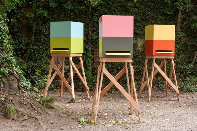 Olaf Nicolai, 'Maisons des Abeilles (Entwurf Sauerbruch Hutton, I, II, III)', 2002, Galerie EIGEN + ART