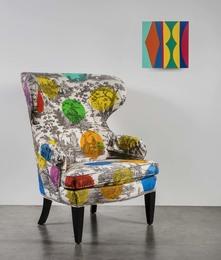 How Not To Paint A Chair (Homage to John Baldessari), 7 Gerbil (Abracadabra Series)