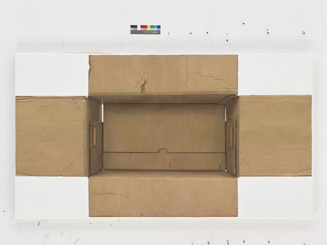, 'Karton,' 2015, Galerie Haas AG