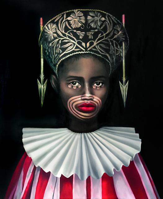 , 'Queen of Spades,' 2018, GALERIE BENJAMIN ECK