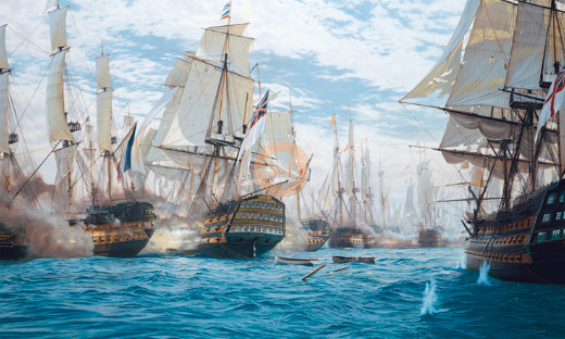 , 'Battle Of Trafalgar,' 21st Century, Smith & Partner