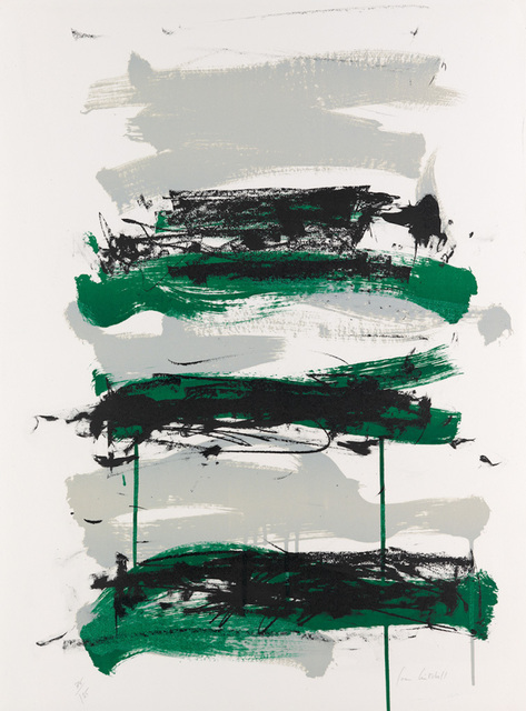 , 'Champs - Black, Gray and Green,' 1991, F.L. Braswell Fine Art