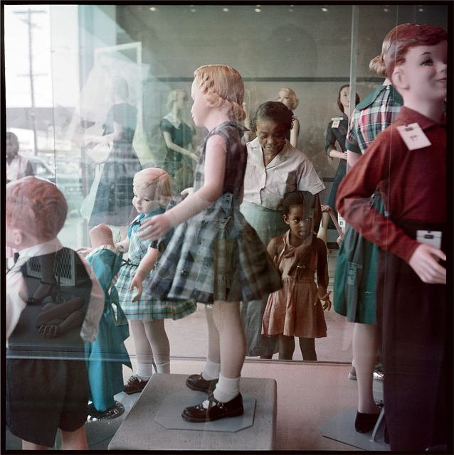 , 'Ondria Tanner and her Grandmother Window-Shopping, Mobile, Alabama ,' 1956, Rhona Hoffman Gallery