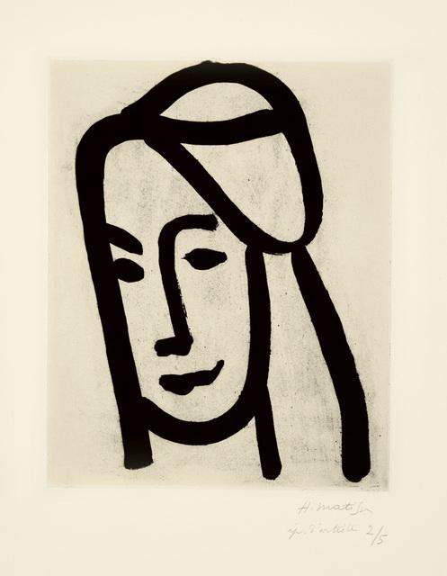 , 'Bédouine au long visage,' 1947, Marlborough Gallery