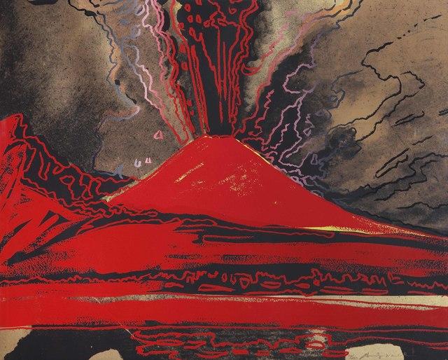 , 'Vesuvius,' 1985, Galleria d'Arte Maggiore G.A.M.