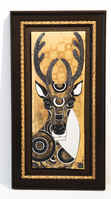Masako Inoue, 'Ceramic Picture_Deer', 2019, Micheko Galerie