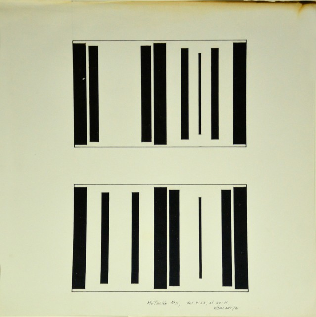 , 'Mutación #11, del 9:23, al 24:14,' 1981, Henrique Faria Fine Art