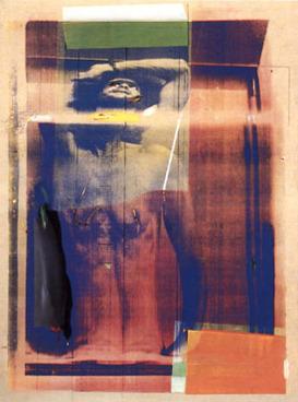 , 'Corpo che oscilla dal braccio,' 1975, Galleria del Cembalo