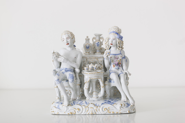 , 'A Strong Passion [Courtesy MEISSEN COUTURE® Art Collection],' 2014, Cynthia Corbett Gallery