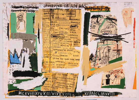 Jean-Michel Basquiat, 'JAWBONE OF AN ASS  Set II, 1982/2005',  , Gallery 32