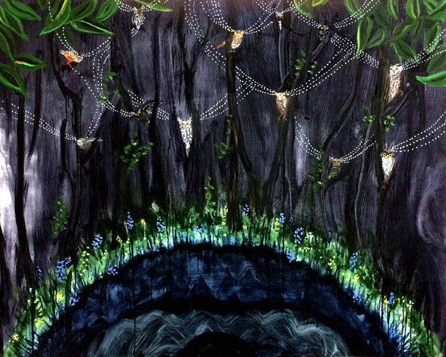 Mary Devincentis, 'Night Forest', 2017, Park Place Gallery