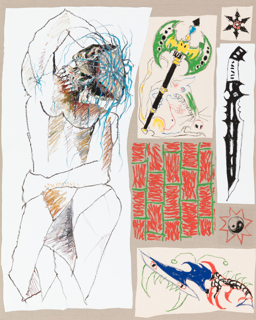 , 'Cubist Study,' 2018, Stevenson