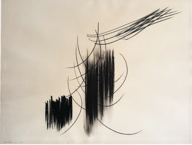 Hans Hartung, 'Untitled', 1957, SETAREH