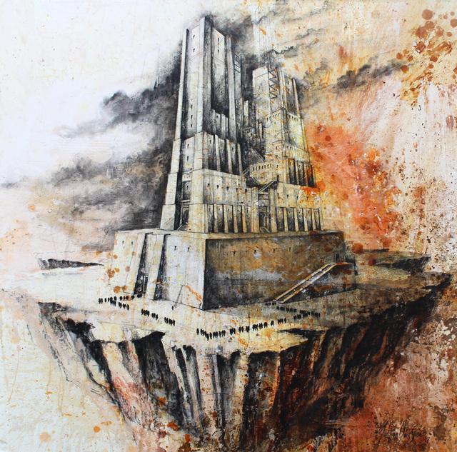 """, 'De la serie """"Huérfanos de Babel"""",' 2017, Victor Lope Arte Contemporaneo"""