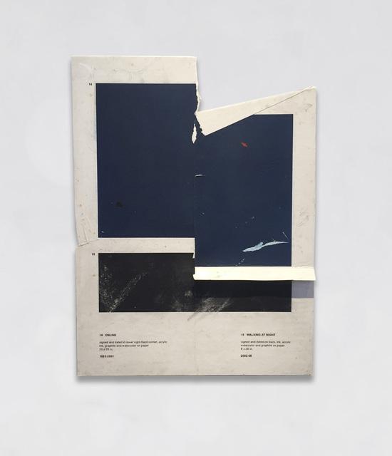 , 'Online / Walking at Night,' 2017, Bryce Wolkowitz Gallery