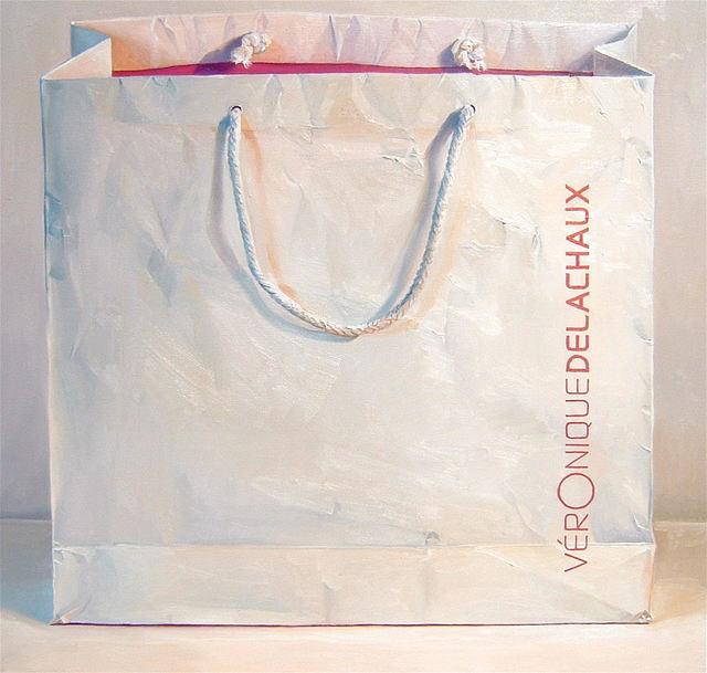 , 'White Bag,' 2004, Rosenthal Fine Art