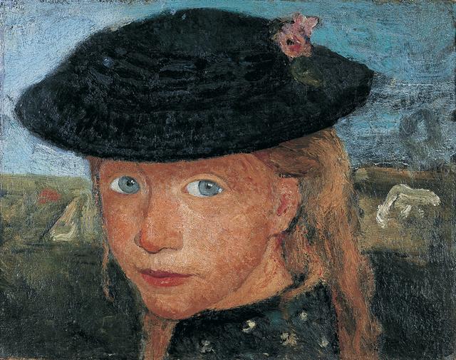 , 'Tête d'une Jeune Fille Blonde Coiffée d'un Chapeau de Paille,' 1904, Musée d'Art Moderne de la Ville de Paris