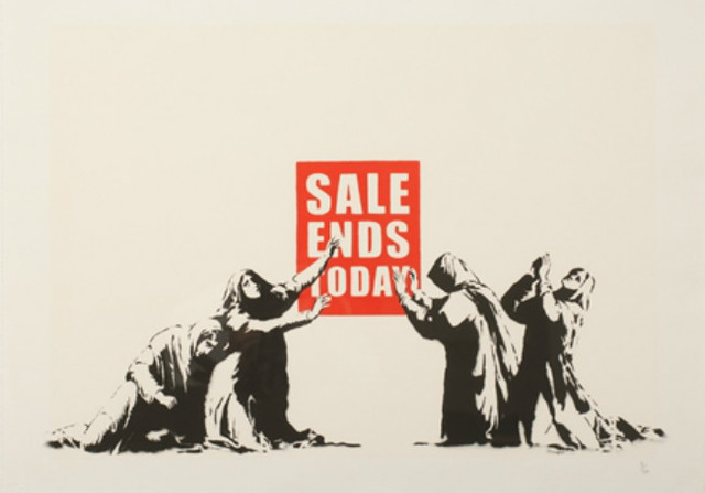 Banksy, 'Sale Ends Today (V.2)', 2017, Taglialatella Galleries