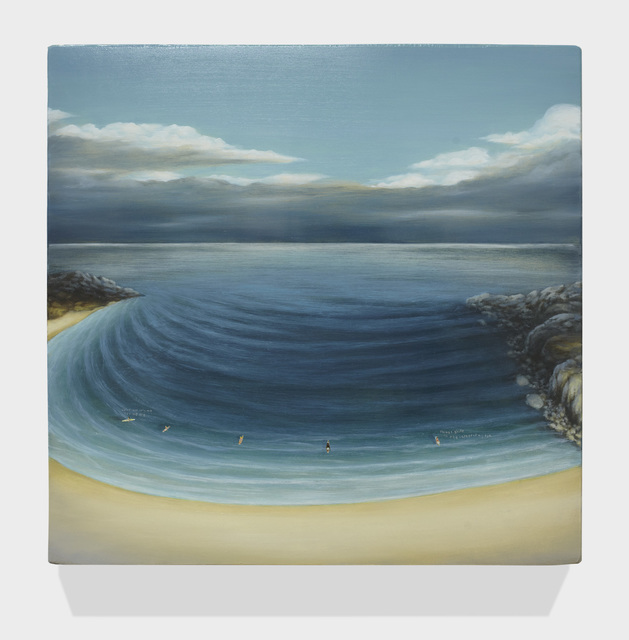 , 'SURFERS ON STILL WATER 6,' 2016, Greg Kucera Gallery